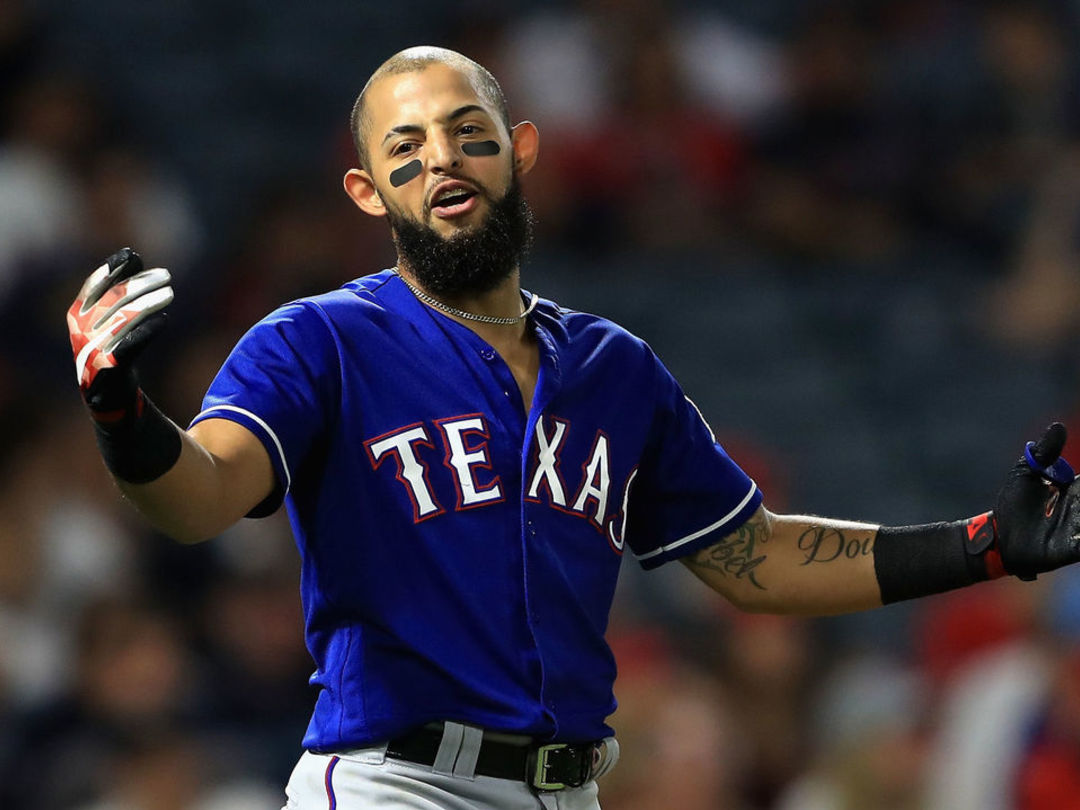 Rangers sticking with scuffling Odor, manager says