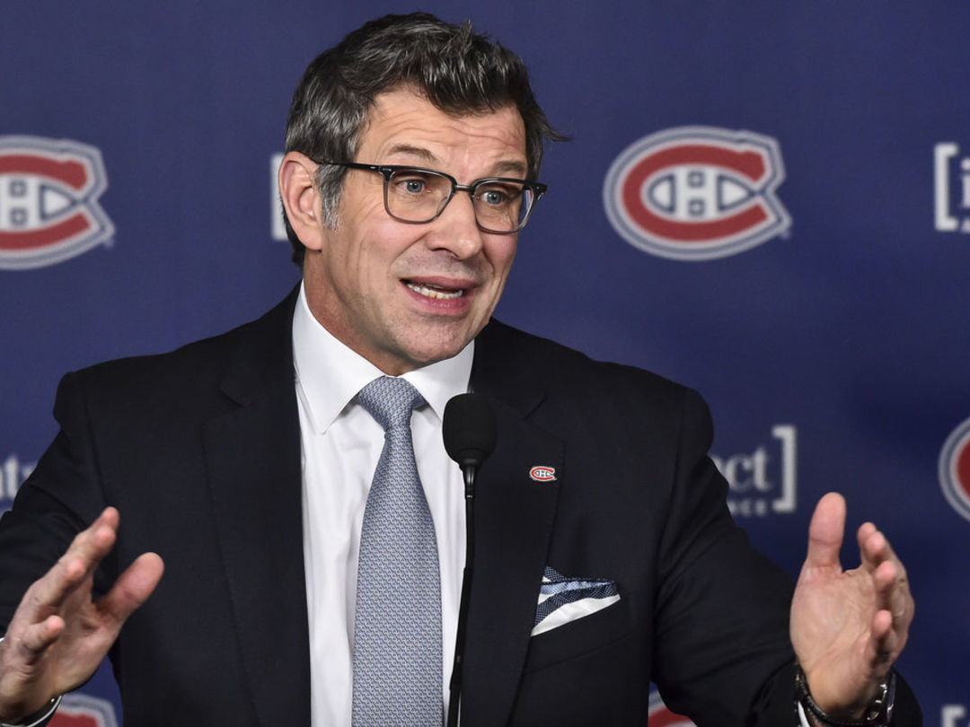 Canadiens owner indicates Bergevin will return as GM
