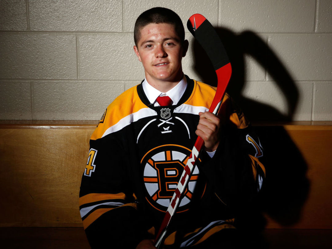 Bruins sign NCAA standout Donato to entry-level deal