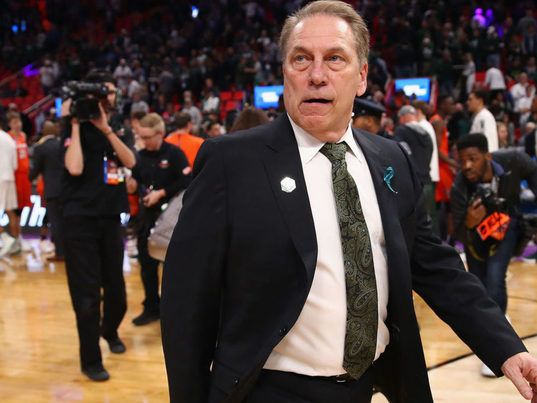 Izzo vows to return after Michigan State program 'punched and kicked'