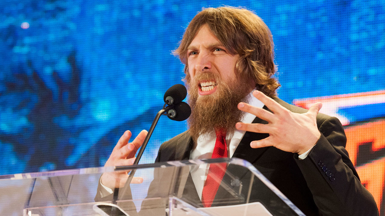 BEVERLY HILLS, CA - AUGUST 13: Daniel Bryan attends WWE SummerSlam Press Conference at Beverly Hills Hotel on August 13, 2013 in Beverly Hills, California.
