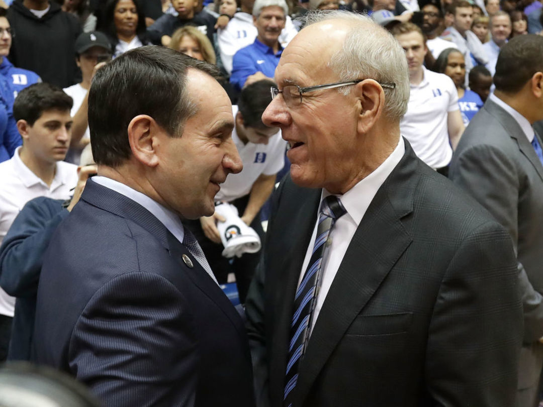 Syracuse's Boeheim: I could 'handle' Coach K in a shooting contest