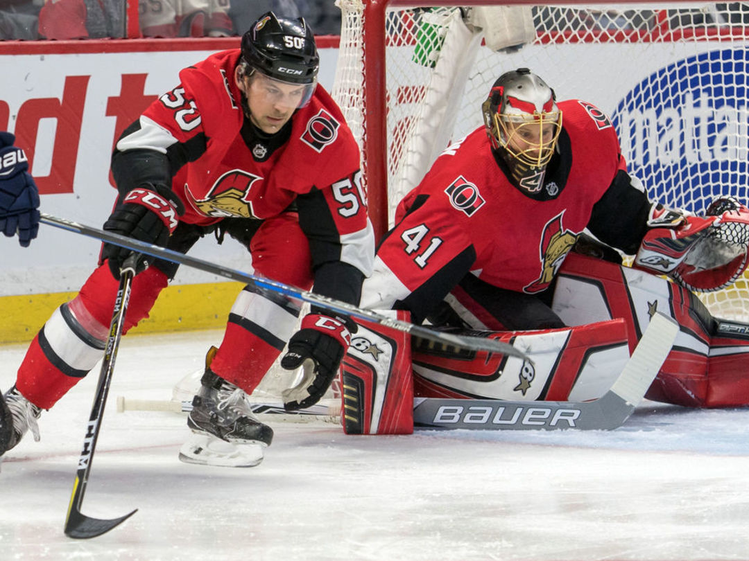 Senators' Sieloff sets odd NHL record with 2nd career goal