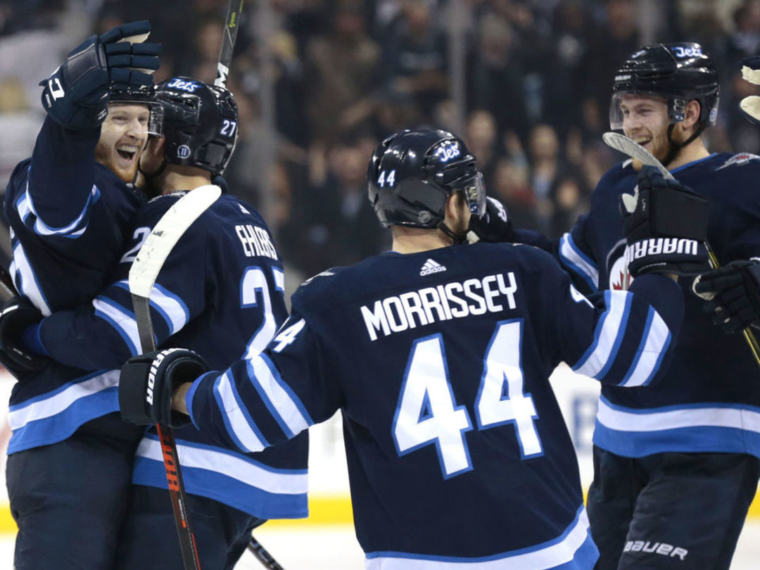 Watch: Connor's OT winner helps Jets set franchise wins record