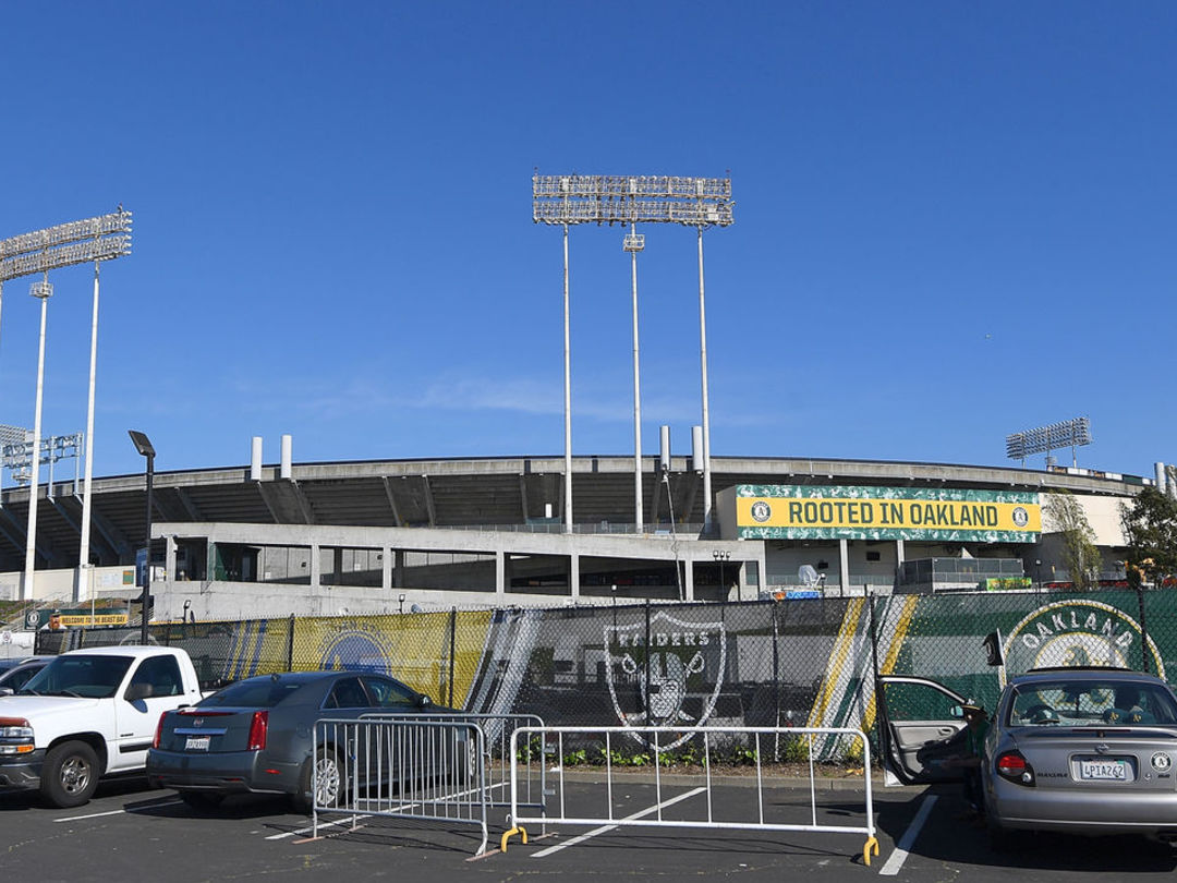 Athletics charging Giants fans extra for parking