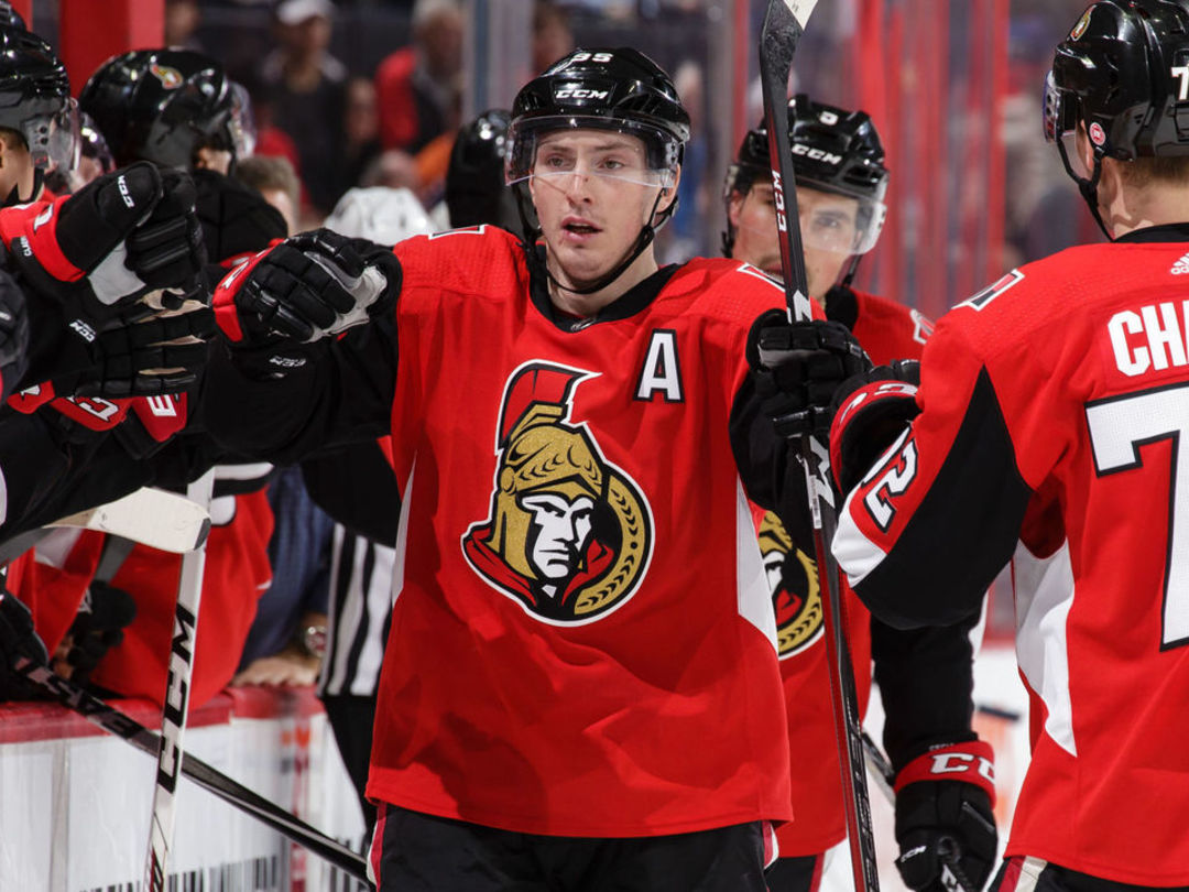Duchene 'absolutely' open to contract extension with Senators