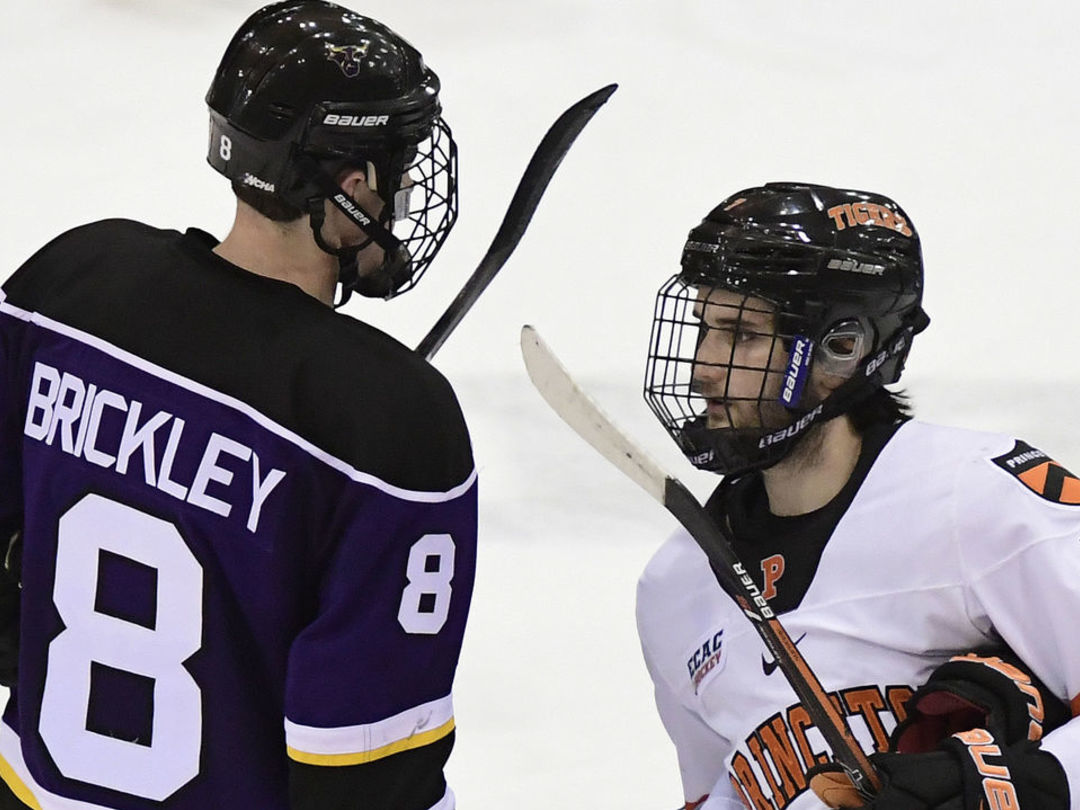 Report: College free agent Brickley to visit Wings, Kings, Sharks this week