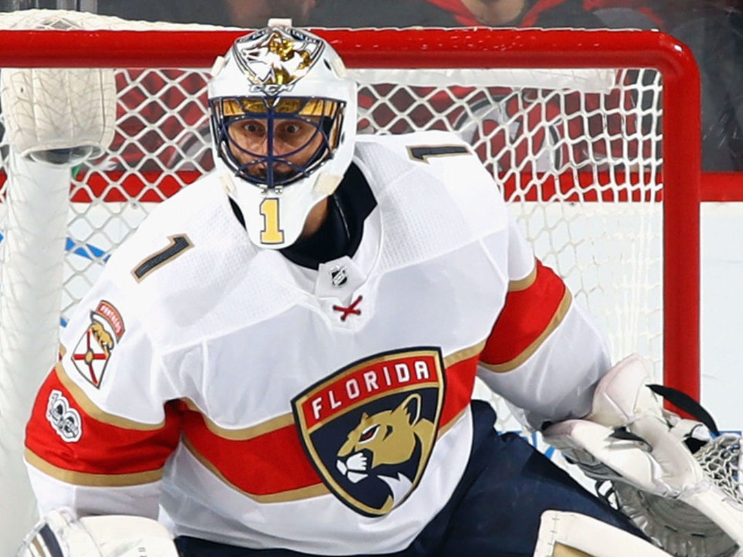 Luongo jokingly credits 'carb-based diet' as his key to staying in shape