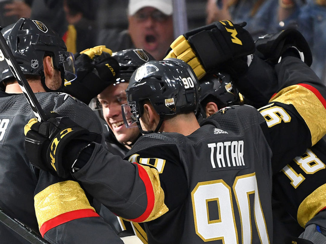 Golden Knights clinch Pacific Division crown with win over Sharks