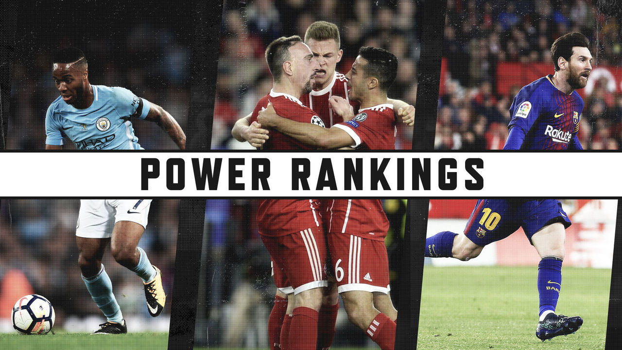Footy Power Rankings: Manchester City plummets after