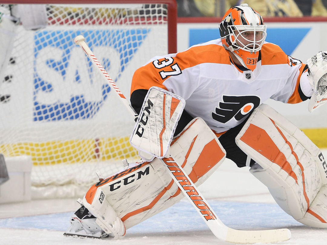 Flyers to keep faith with Elliott in goal for Game 2