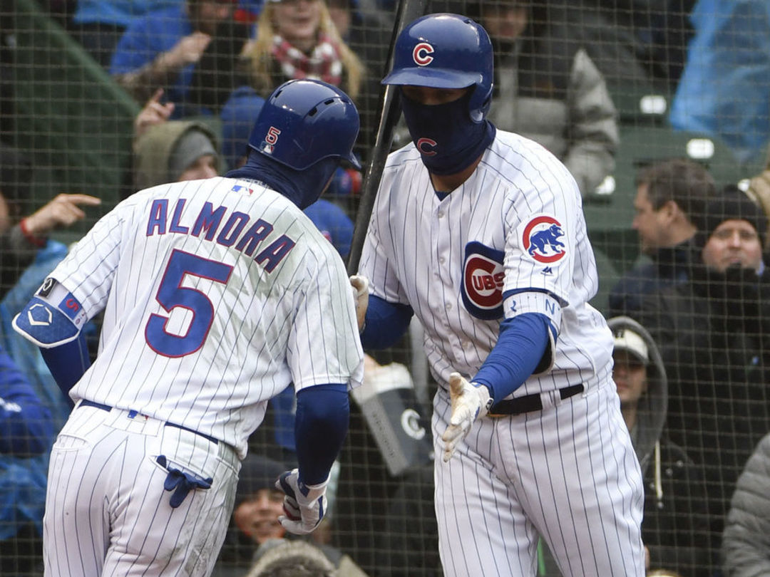 Cubs score 12 unanswered, 9 in 8th inning to stun Braves
