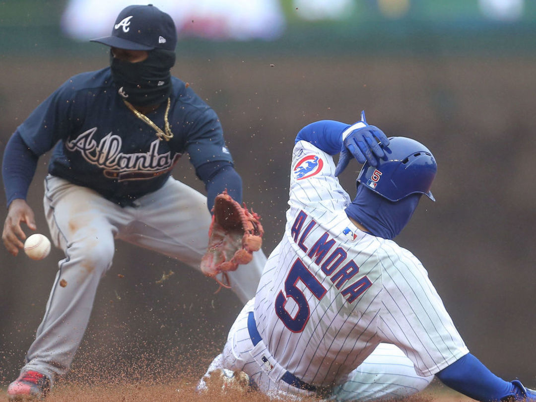Cubs, Braves upset Saturday wasn't canceled: It 'should not have been played'