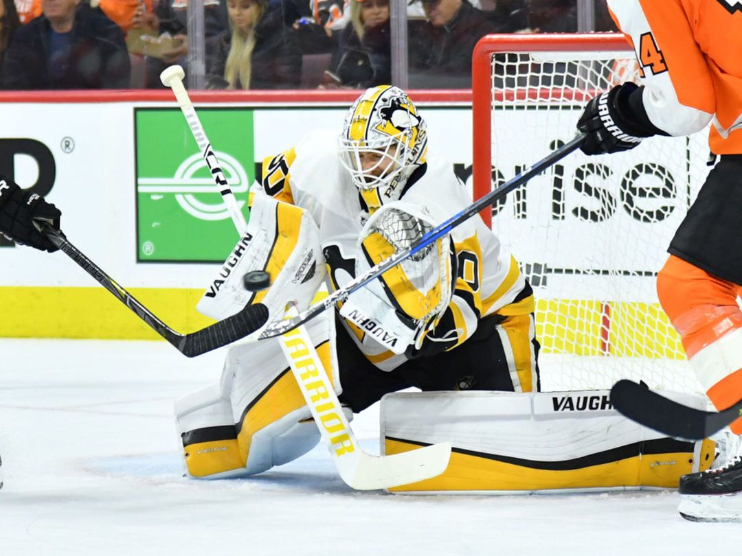 Murray becomes fastest NHL goalie to reach 25 playoff wins