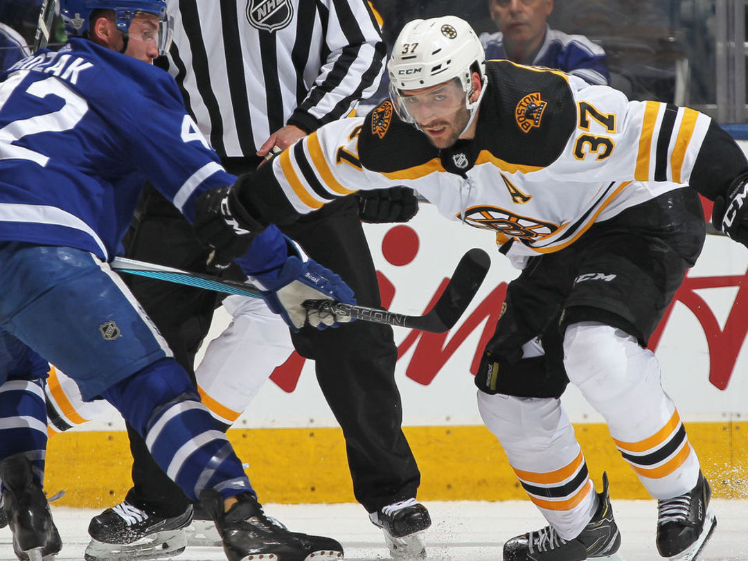 Bruins' Cassidy hopeful Bergeron will return for Game 5