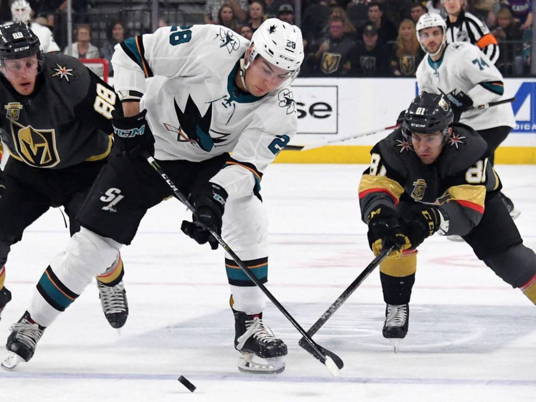 Vegas releases prop bets for series opener between Golden Knights,-Sharks