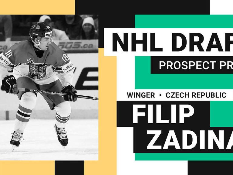 b49ae0652 NHL Draft Prospect Profile: Filip Zadina | theScore.com