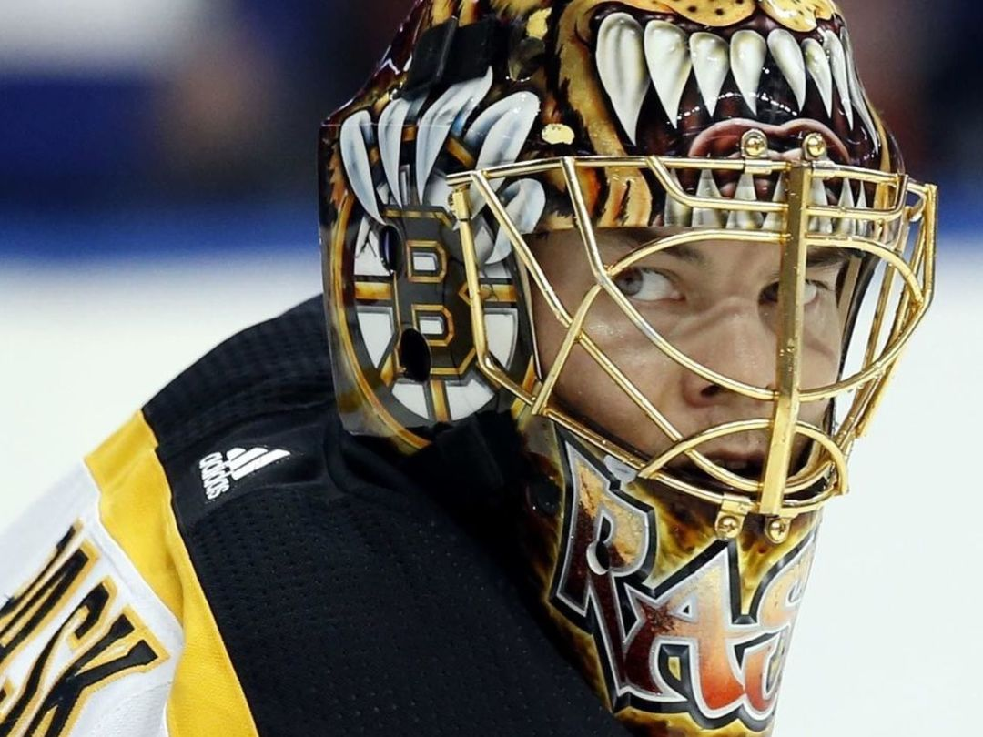 Bruins' Rask told play would have been blown dead if refs saw broken blade