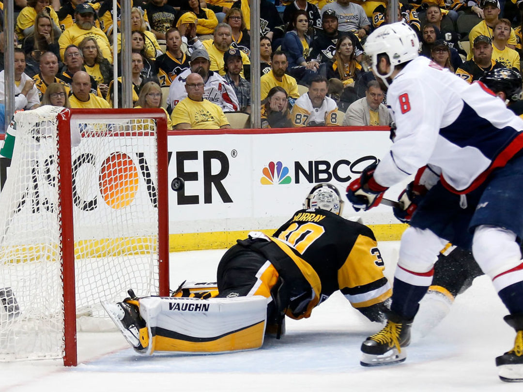 Capitals grab series lead vs. Penguins for 1st time since 2016