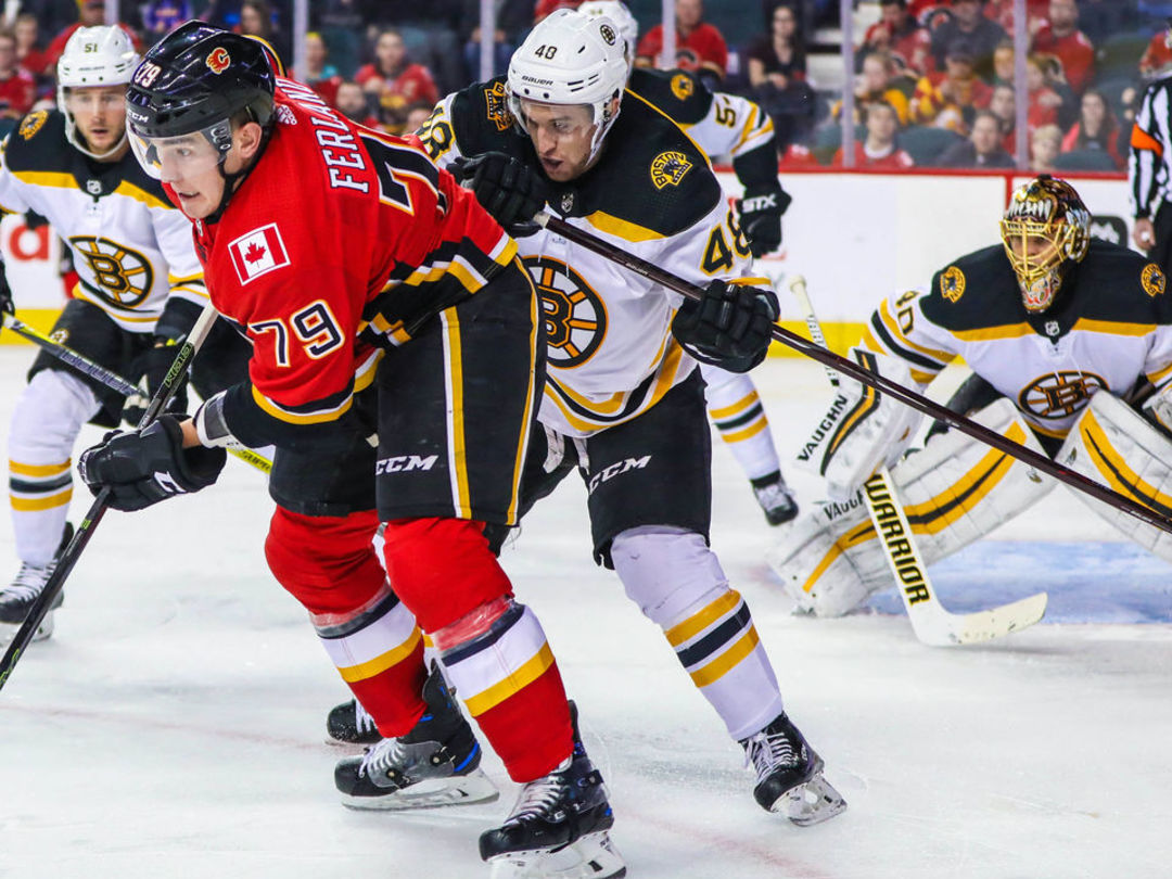 Bruins-Flames to play 2 preseason games in China in September