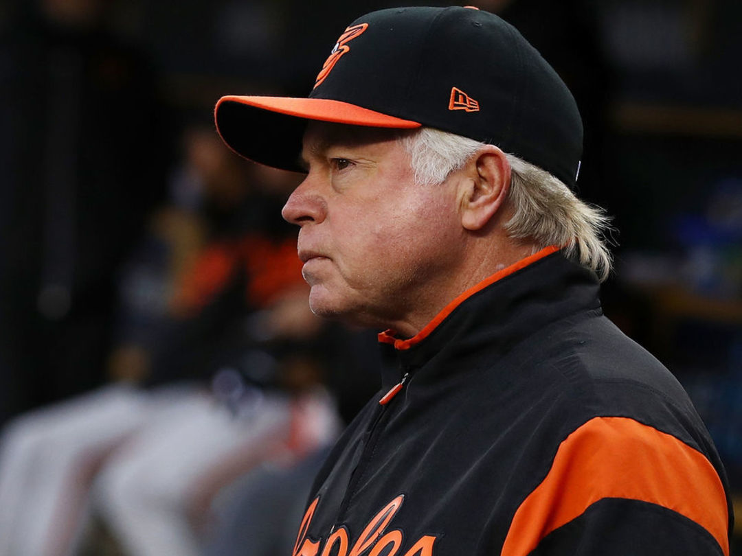 Showalter on walking Trout 4 times Tuesday: 'I don't want to watch him hit'