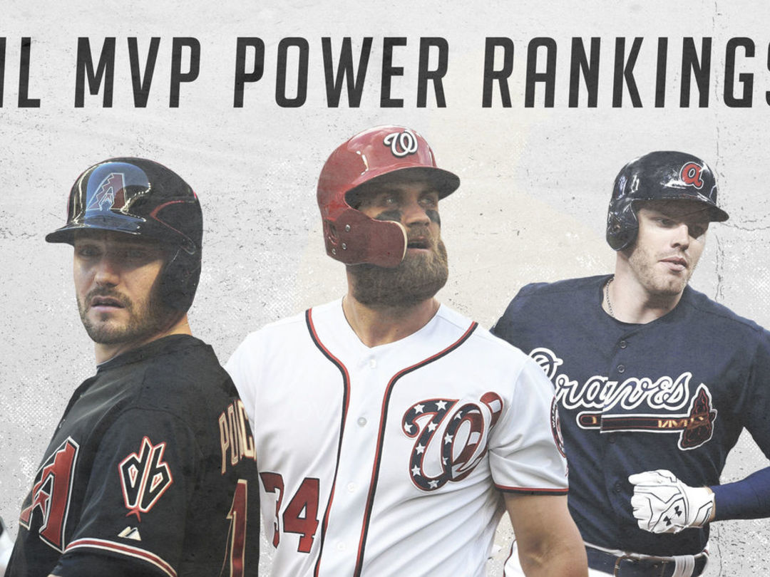 NL MVP Power Rankings: Harper making hay in walk year