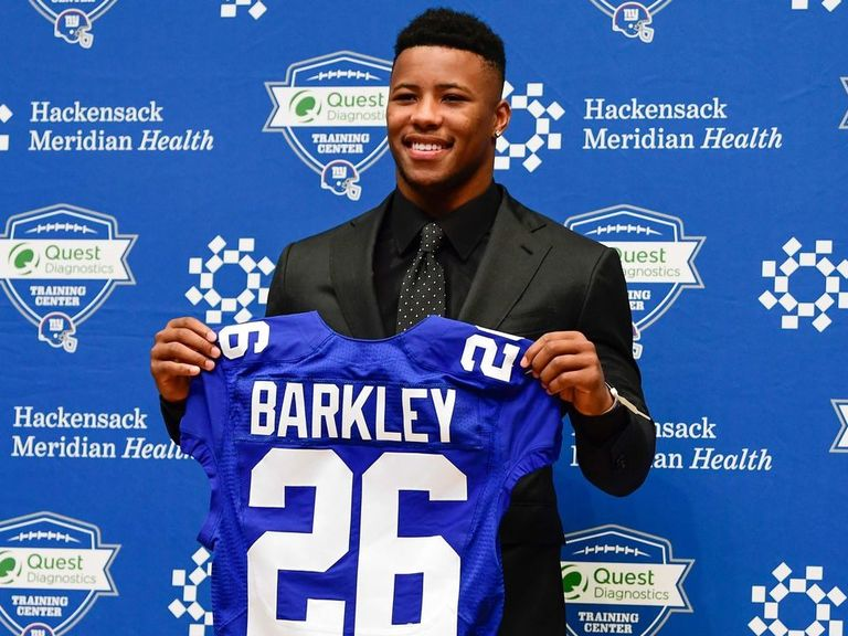 Saquon Barkley has NFL s top-selling jersey  522fa39ce