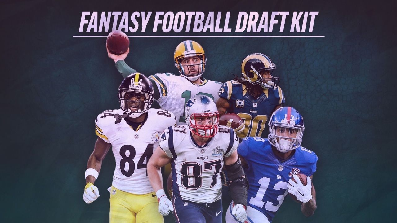 thescores 2018 fantasy football draft kit thescorecom