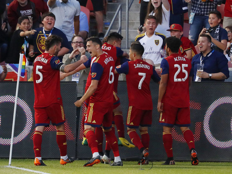 Real Salt Lake hold off Timbers to reach Western Conference semis
