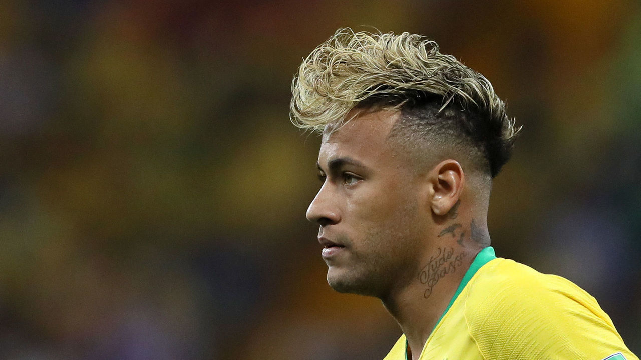 Neymars New Hairstyle Lampooned By Twitter Thescore