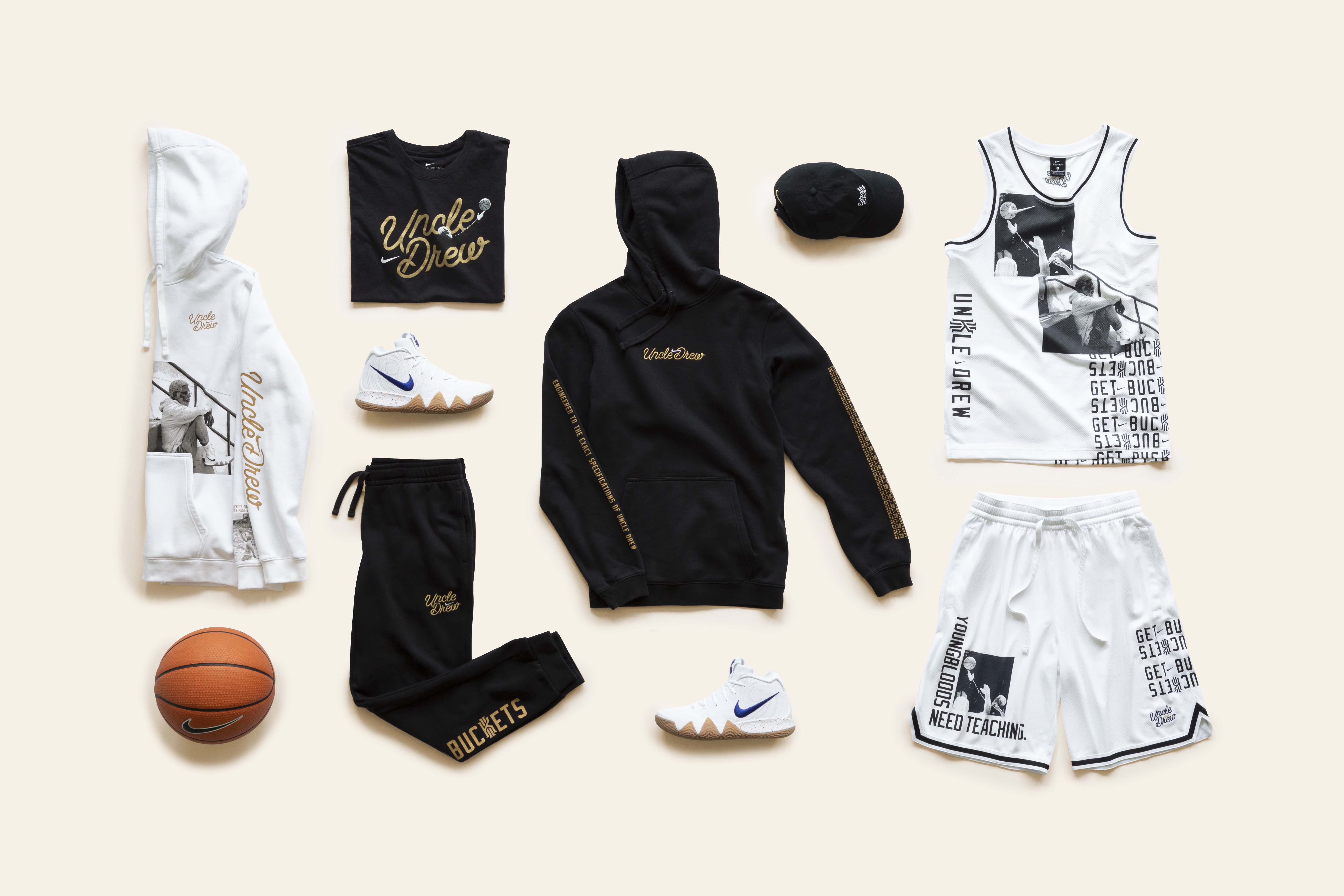Nike unveils Kyrie 'Uncle Drew' apparel collection | theScore com