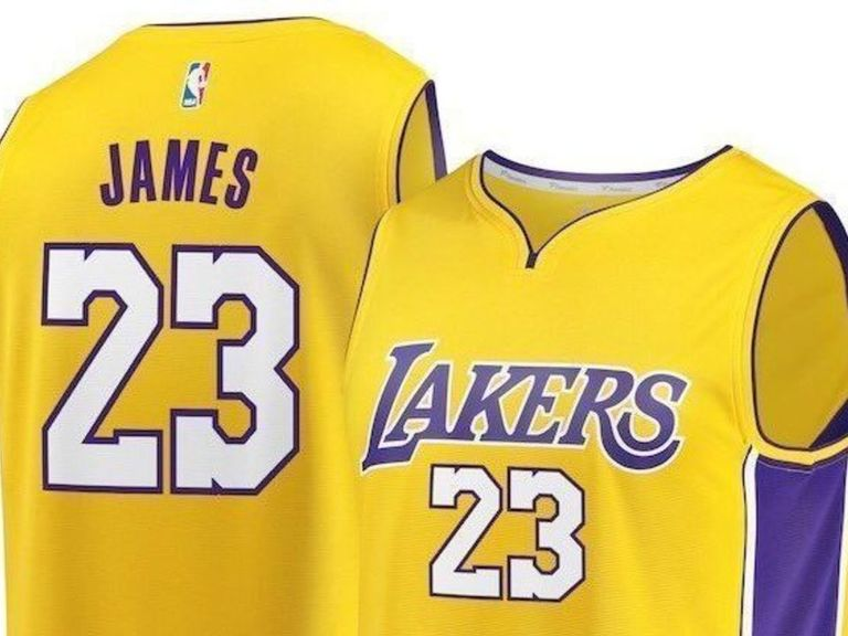 8610a8b7ddb Report  LeBron to wear No. 23 with Lakers