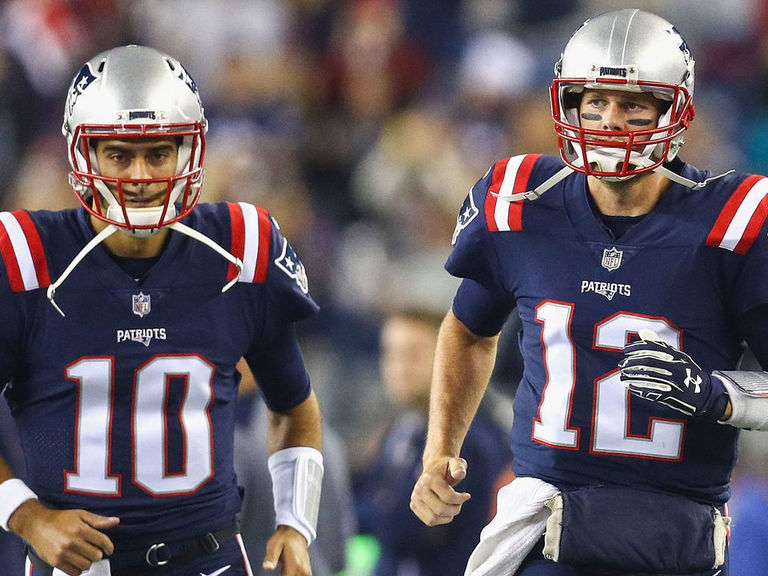 Garoppolo curious to see where Brady ends up in free agency