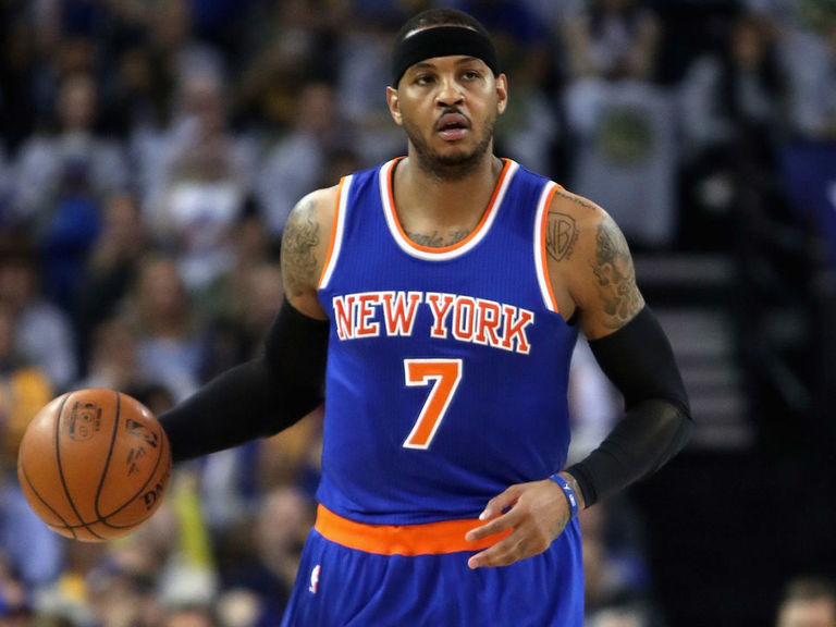Report: Melo to join Knicks' scrimmages Thursday