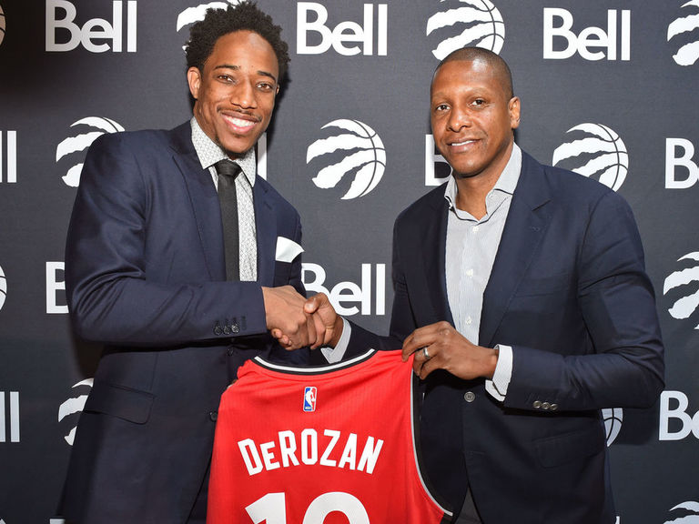 Report: DeRozan withdrawing from NBA Africa game