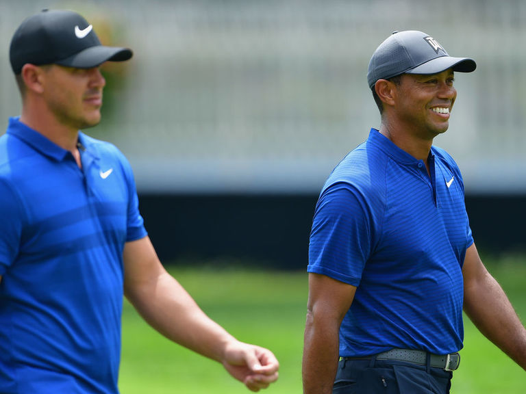 Captain Woods tells injured Koepka 'no hurry' for Presidents Cup decis