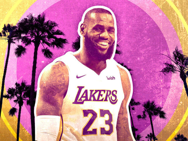 ec11cc8c9 LeBron at center  Lakers considering it - but they shouldn t ...