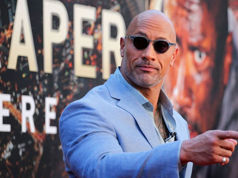 The Rock reveals his wrestling Mount Rushmore