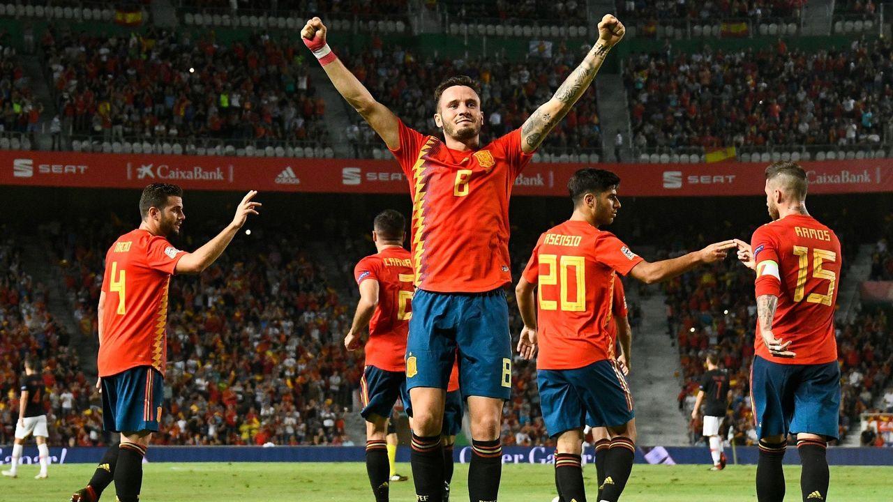 Toàn thắng, Tây Ban Nha đặt 1 chân vào VCK