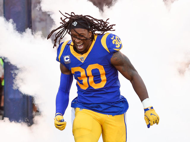 huge selection of 5b7aa c8274 Fantasy: 2019 Projections - How will Gurley, Henderson split ...