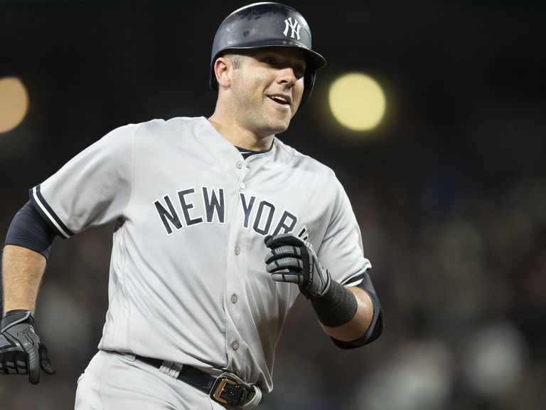 Yankees' Romine becomes 2nd position player to pitch in postseason game