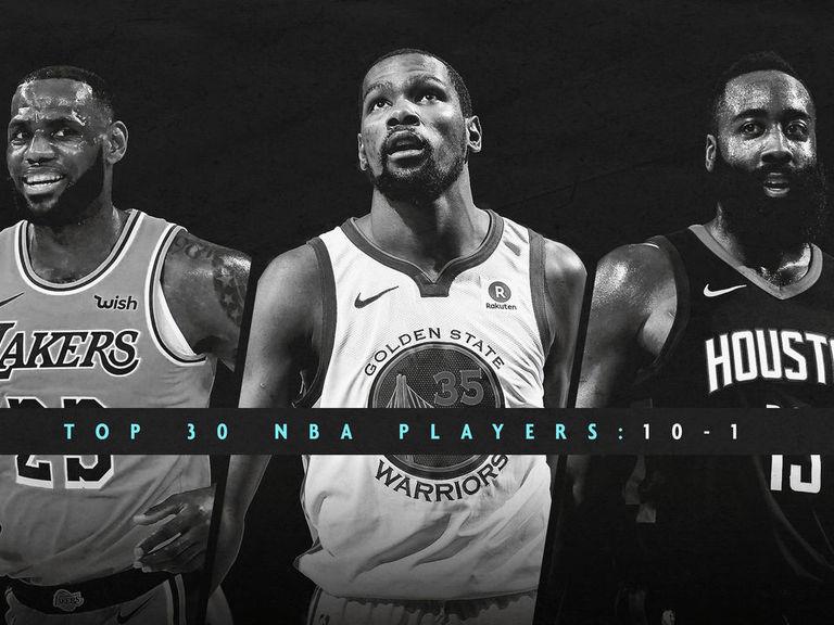 2018-19 NBA player rankings: 10-1