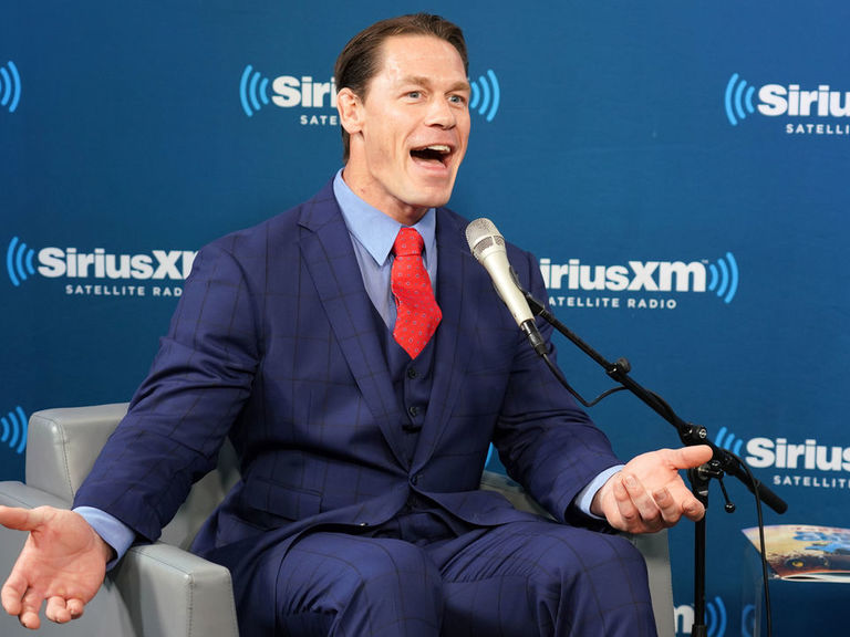 Shaq approves of Cena's new hairdo: 'He looks very sexy with that hair'