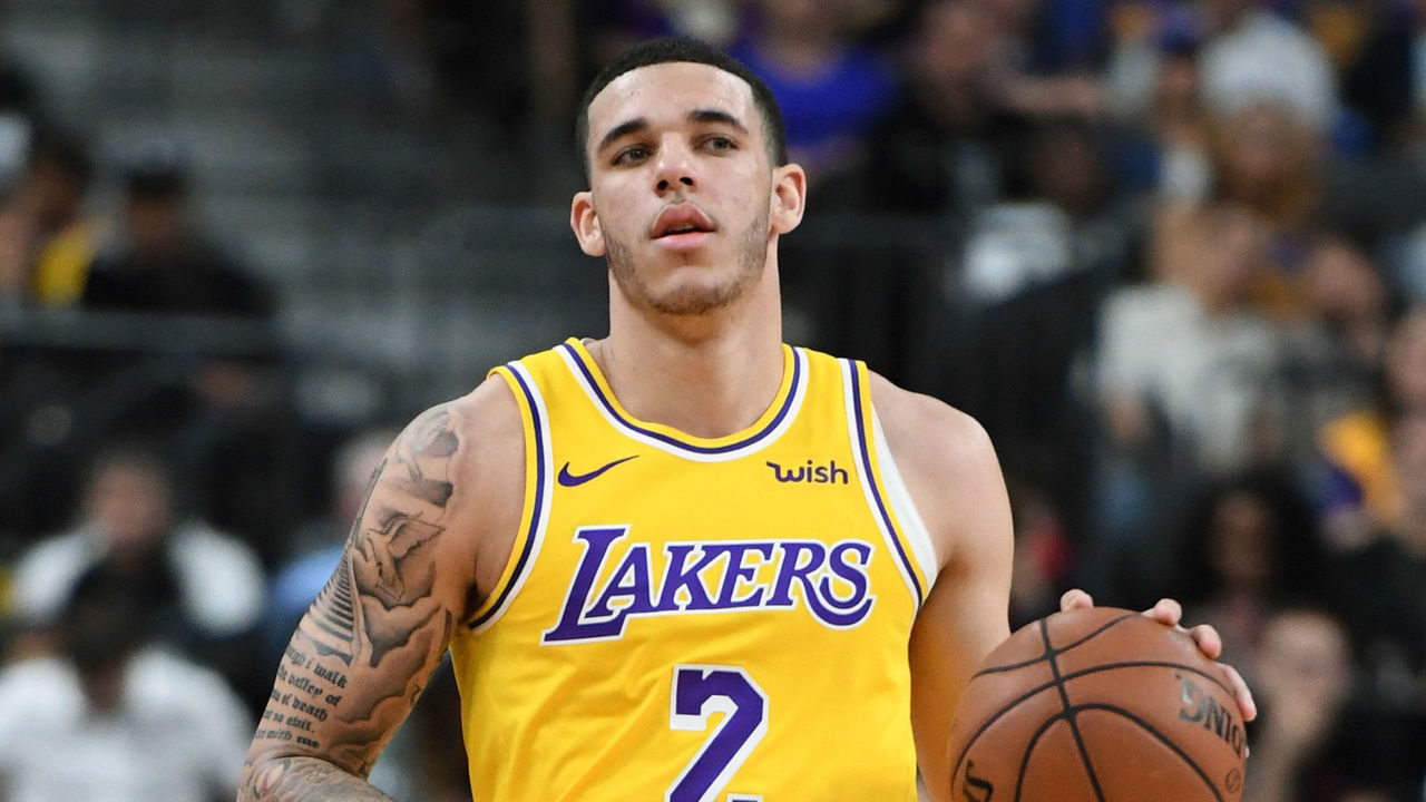 884ebbc4f42 Lakers  Ball out 4-6 weeks with left ankle sprain