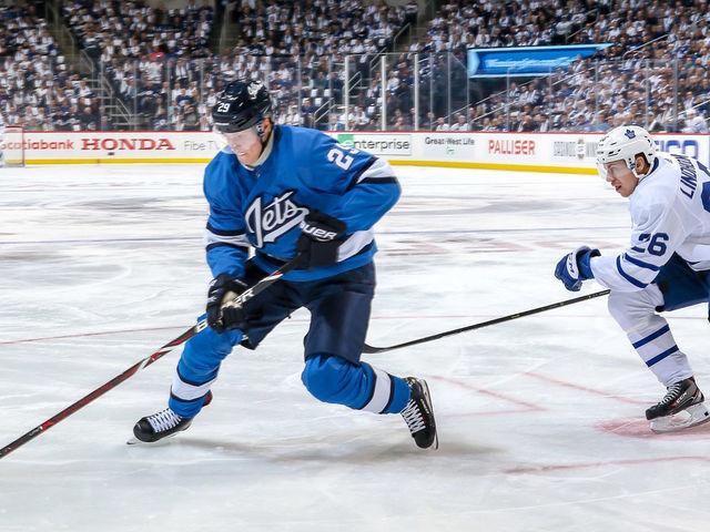 d23ddfc05 Jets start slumping Laine on 4th line vs. Maple Leafs