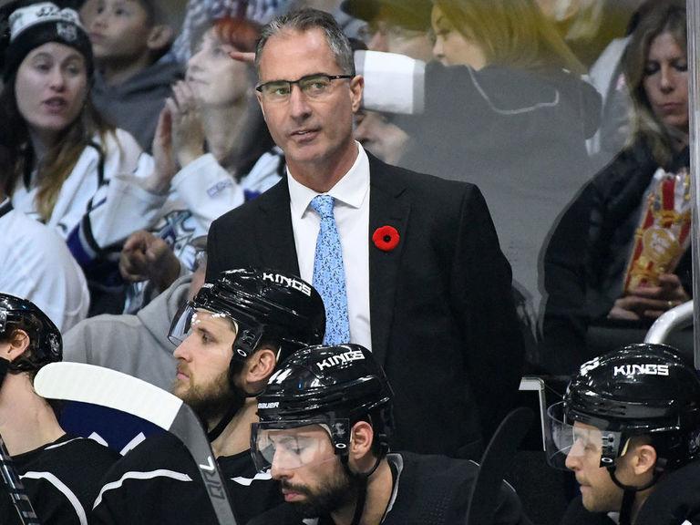Kings fire Stevens, name Desjardins interim head coach