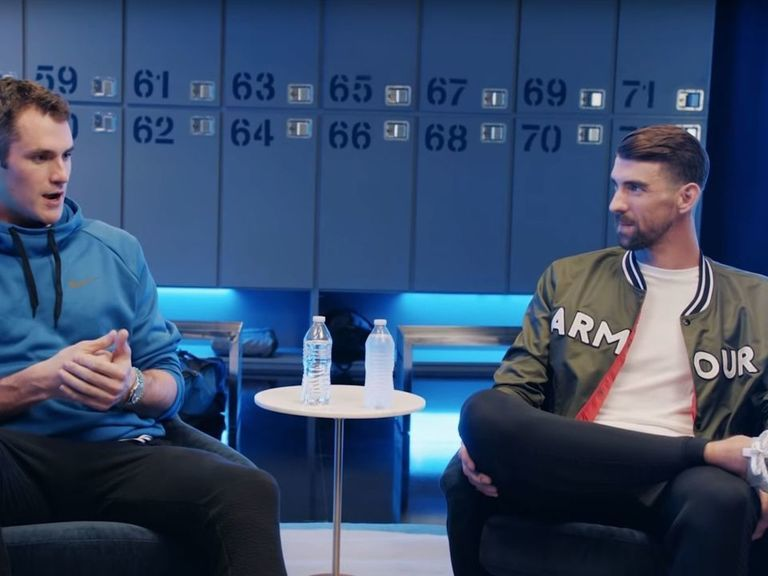 Watch: Kevin Love and Michael Phelps discuss mental health