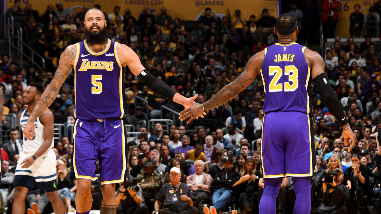 fecd22c1110c Court Vision  Lakers find the right fit with Tyson Chandler signing ...