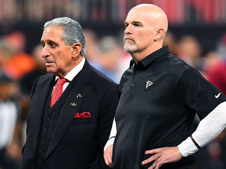 Falcons owner still backing Quinn after 6th loss of season