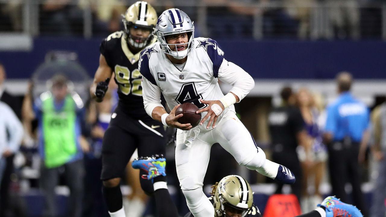 953bfe52c Cowboys end Saints' 10-game winning streak in low-scoring affair |  theScore.com